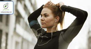 هنگام ورزش، به محتوای آموزنده یا الهام بخش گوش بدهید