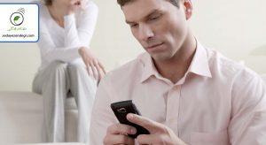 شوهرم مشکوک میزند؛ تازگیها برای تلفنش رمز گذاشته!