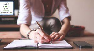 یادداشت روزانه بنویسید (۵ الی ۱۵ دقیقه)